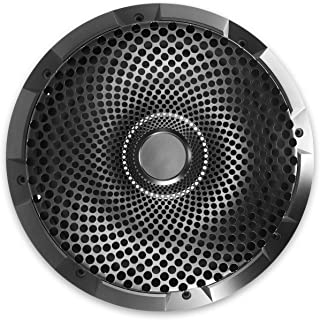 Recoil 8-Inch High Excursion Black Steel Mesh Subwoofer Grille (8 inch)