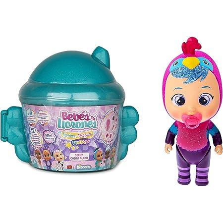 Bebés Llorones Lágrimas Mágicas Fantasy Casita Alada - Mini muñecas sopresas coleccionables con purpurina - modelo sorpresa