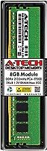 A-Tech 8GB DDR4 2133MHz DIMM PC4-17000 UDIMM Non-ECC 2Rx8 1.2V CL15 288-Pin Desktop Computer RAM Memory Upgrade Module