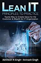 Lean It - Principles to Practice: Toyota Way to Create Value for the Customer & Wealth for It Organization