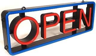Horizontal Vertical LED Open Sign