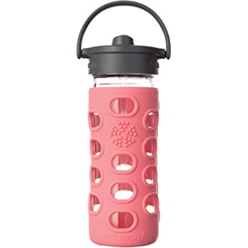 Lifefactory Glas-Trinkflasche - Frasco, Color Rosa, Talla 320 ml ...