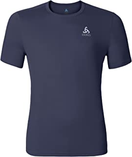 T-Shirt da Uomo Odlo Crew Neck Imperium Manica Lunga Stampa