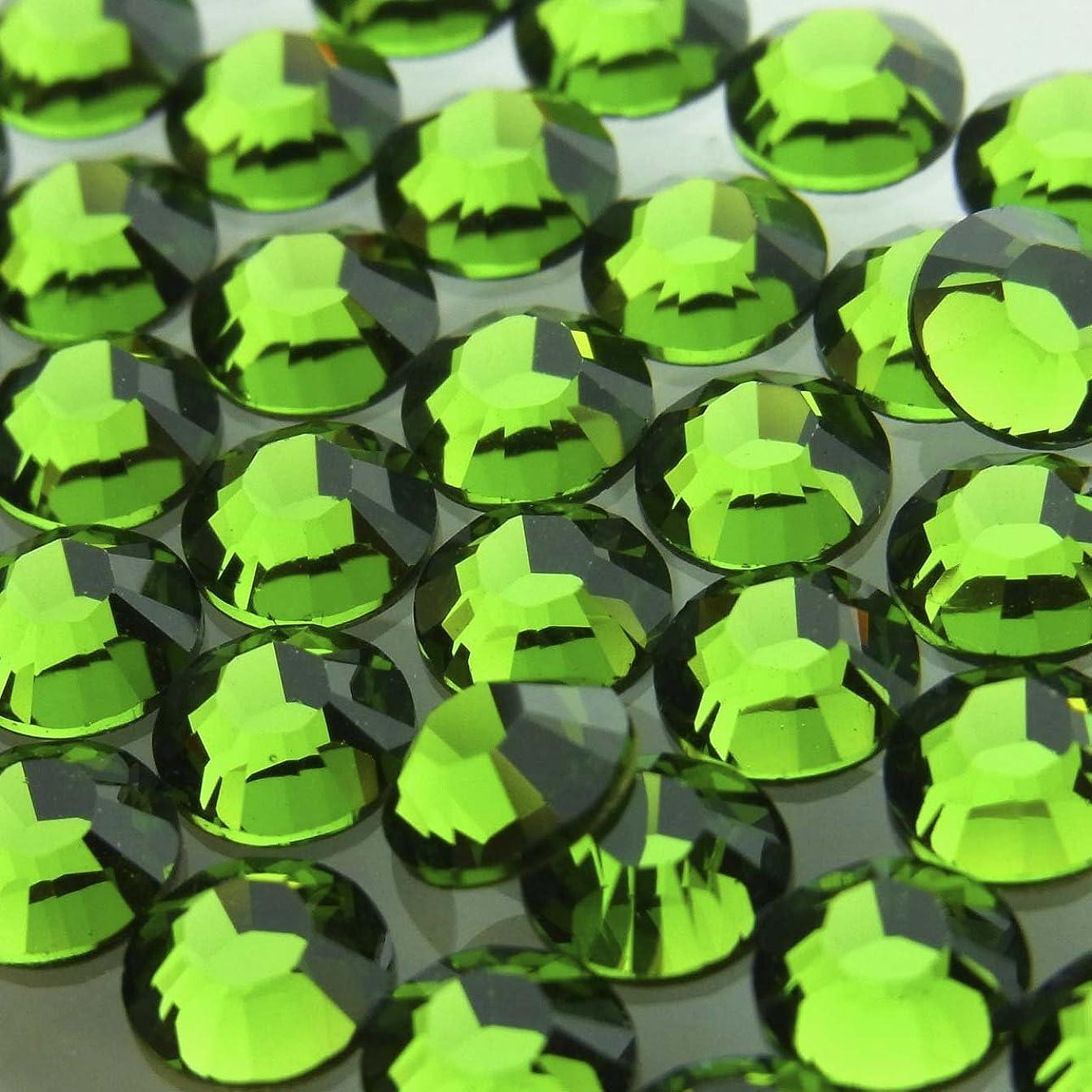 マットアイスクリームクリケットHotfixファーングリーンss16(100粒入り)スワロフスキーラインストーンホットフィックス