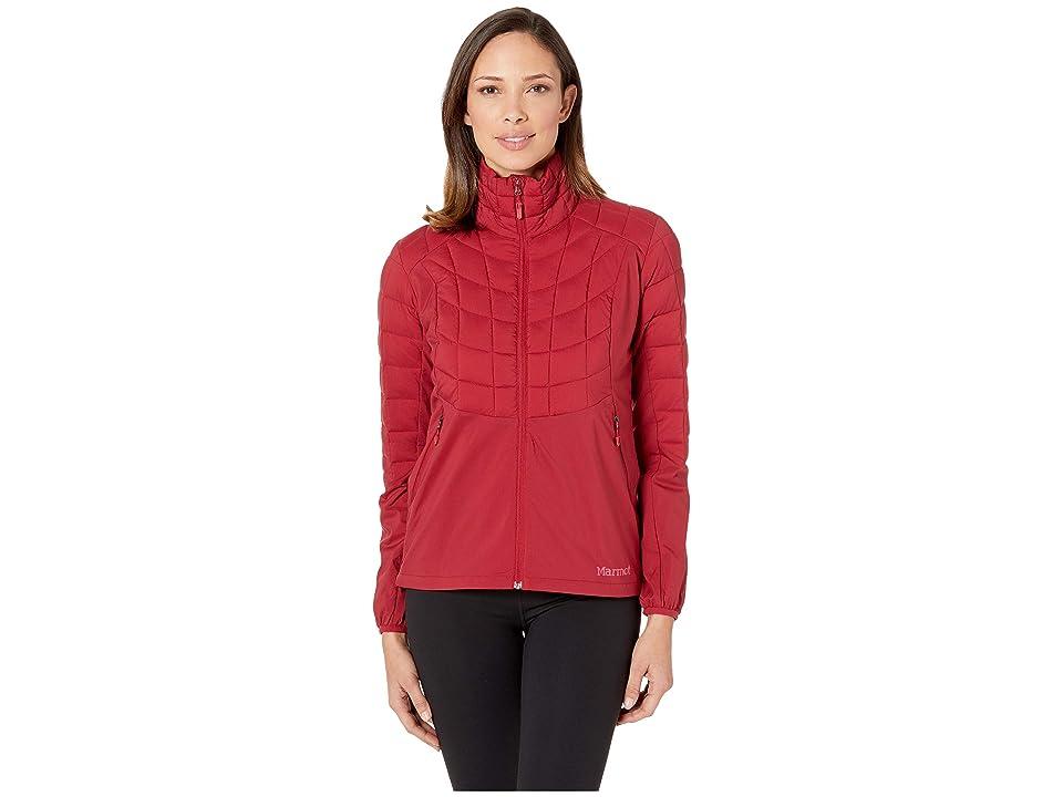 Marmot Featherless Hybrid Jacket (Sienna Red) Women