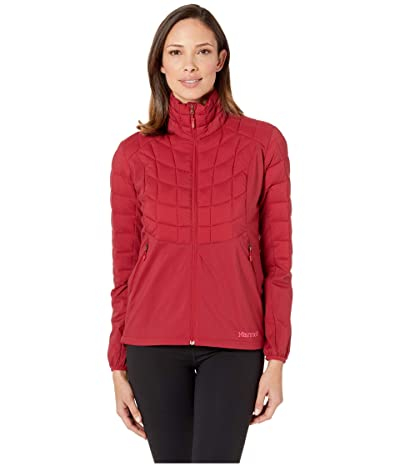 Marmot Featherless Hybrid Jacket (Sienna Red) Women