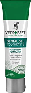 Vet's Best Enzymatic Dog Toothpaste | Teeth Cleaning and Fresh Breath Dental Care Gel |..