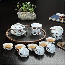 FACAIA Herbata z celadonu (kolor: Zestaw do herbaty z kwiatem śliwki celadonu)
