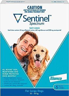 Sentinel Spectrum Tasty Chews for Large Dogs 22-45kg (Blue) - 6 Pack