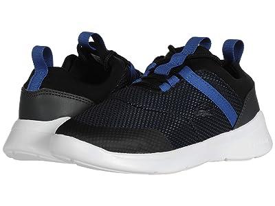 Lacoste Kids LT Dash 120 1 SUC (Little Kid) (Black/Blue) Kid