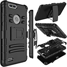 Zenic Compatible with ZTE Blade Z Max Case, ZTE ZMax Pro 2 Case, Heavy Duty Shockproof Full-Body Protective Hybrid Case wi...