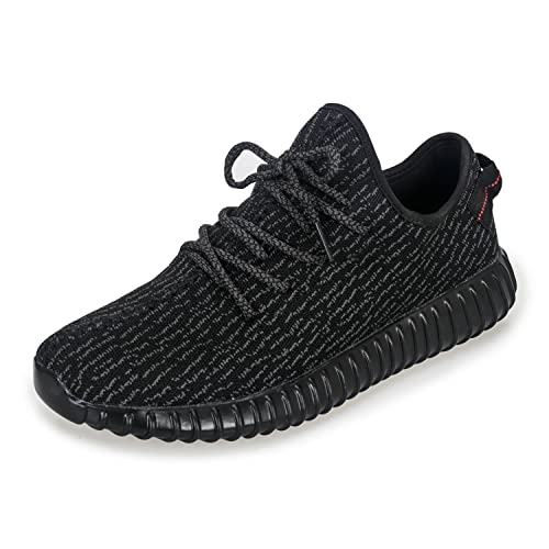 db4c64bc3714 Yasmine Fashion Lightweight Sneakers Unisex Shoes for Couple Men Women All  Black 48