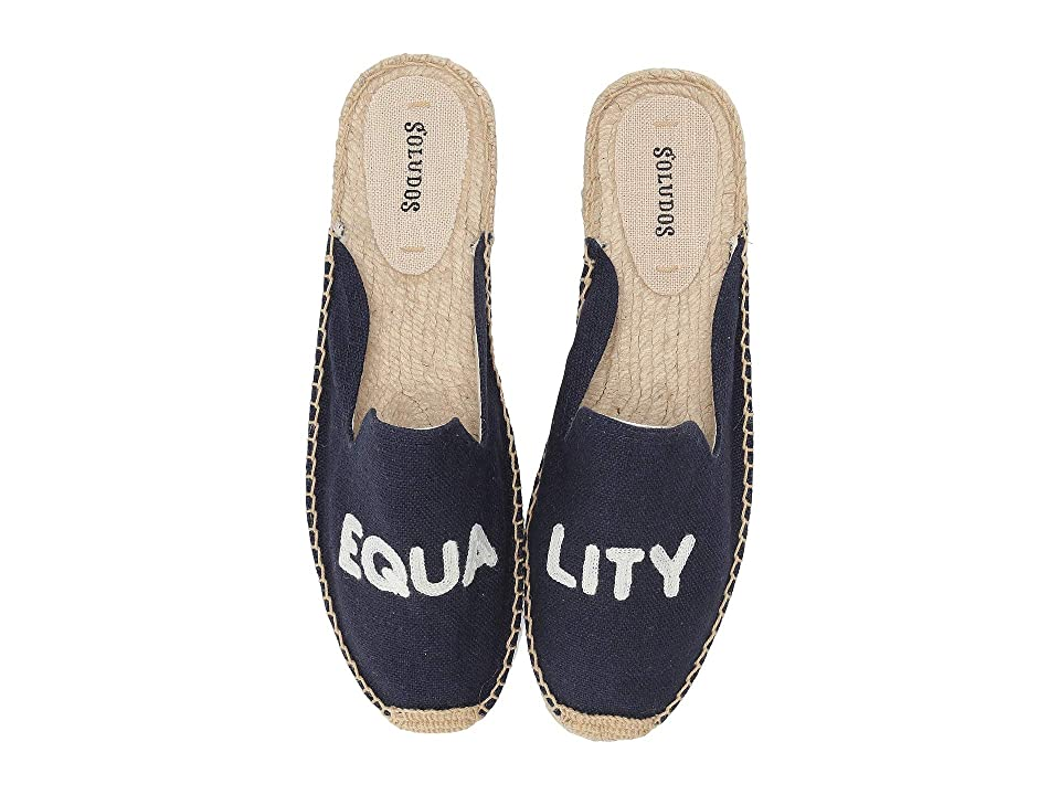 Soludos Equality Mule (Midnight Blue) Women