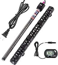 300w 150w 50w Submersible Aquarium Heater Auto Thermostat Heater with Suction,LED Small Mini Temperature Display Aquarium Fish Tank Heater for Fish Tank Water
