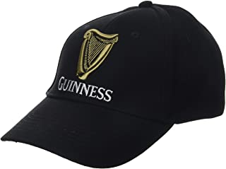Guinness Baseball Cap With Official Logo, Black, One Size
