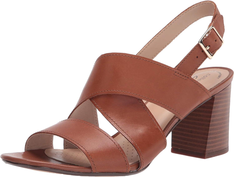 Clarks Women's Overseas parallel shop import regular item Jocelynne Bao Sandal Heeled