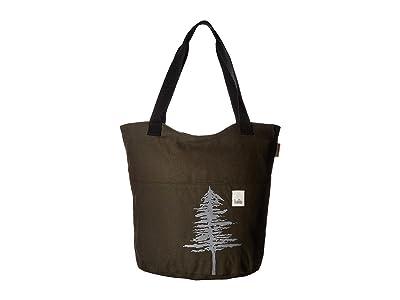 Haiku Paradise Tote (Pine) Tote Handbags