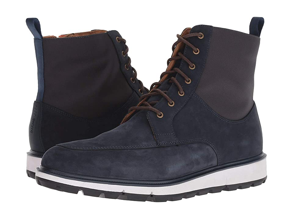 SWIMS Motion Country Boot (Navy/Orange) Men