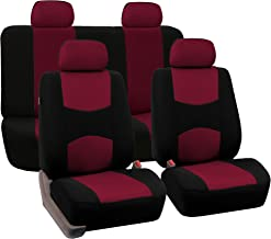 Best burgundy car seat covers Reviews