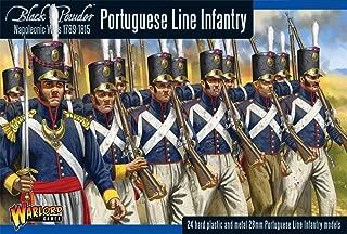 Black Powder Napoleonic Portugese Line Infantry 1:56 Military Wargaming Plastic Model Kit