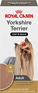 Royal Canin Yorkshire Terrier Adult Breed Specific Wet Dog Food, 3 oz. can