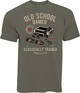 Tim And Ted Gaming T Shirt Old School Gamer Retro Videogame Arcade