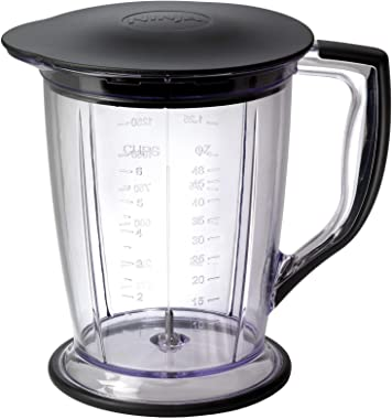 Ninja Blender/Food Processor with 450-Watt Base, 48oz Pitcher, 16oz Chopper Bowl, and 40oz Processor Bowl for Shakes, Smoothi