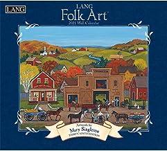 Lang Folk Art 2021 Wall Calendar (21991001922)