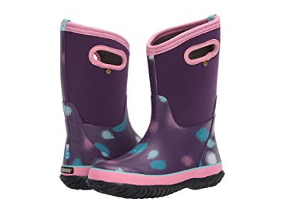 Bogs Kids Classic Funprint (Toddler/Little Kid/Big Kid) (Purple Multi) Girls Shoes