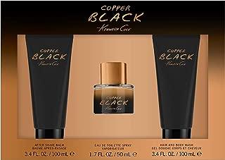 Kenneth Cole Copper Black 3-pc Set for Men, 8.5 Fl Oz