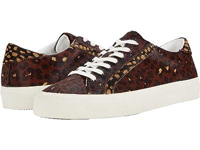 Madewell Sidewalk Low Top Sneakers (Rich Brown Multi Haircalf) Women