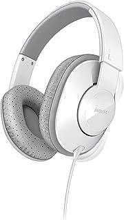 Philips SHL4500WT Frame Headphones for Dynamic Bass 40 mm Neodymium Speaker Drivers (White)