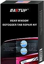 EASTUP Rear Window Defogger Defroster Tab Adhesive Tab Repair Kit