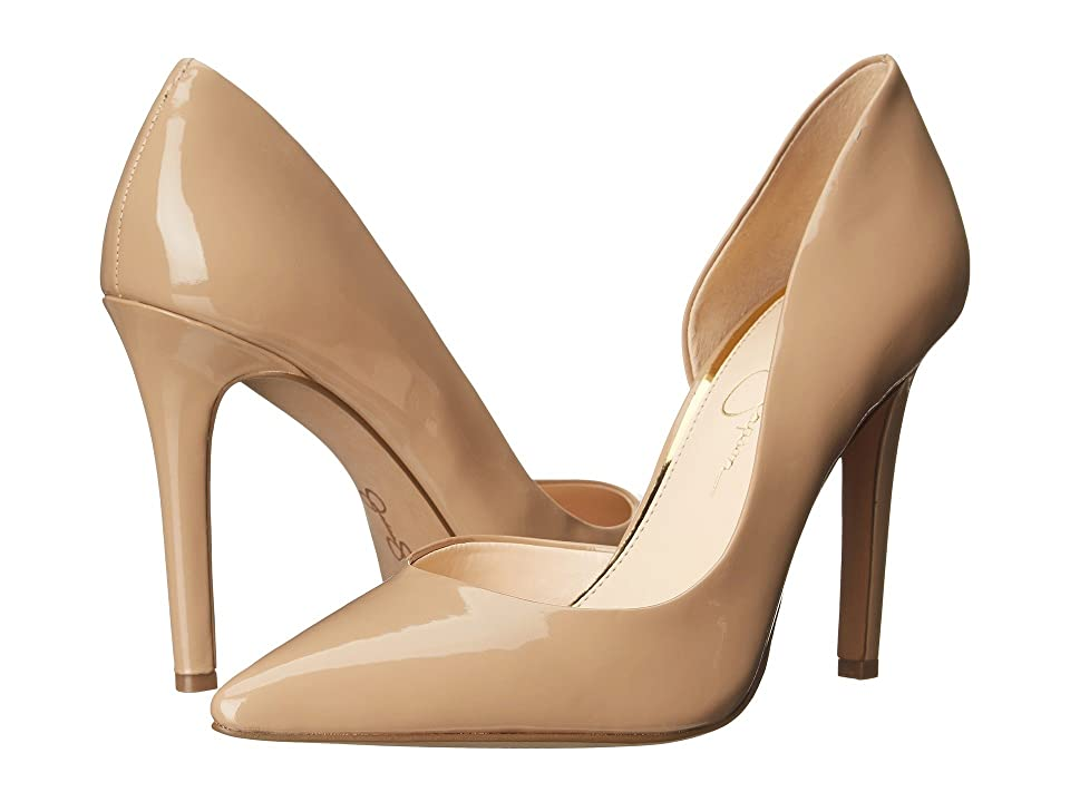 Jessica Simpson Claudette (Nude Patent) High Heels