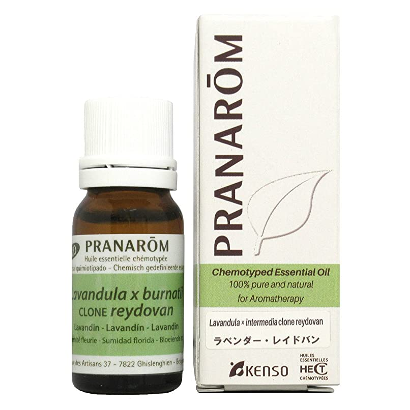 エントリメンバー邪悪なプラナロム ラベンダーレイドバン 10ml (PRANAROM ケモタイプ精油)