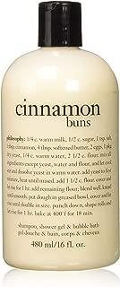 Philosophy Cinnamon Buns 3-In-1 Bath and Shower Gel for Unisex, 16 Ounce