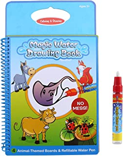 Zerodis vatten målarbok Doodle magisk ritbok med penna återanvändbara barnleksaker pedagogiska leksaker tidig utbildning b...