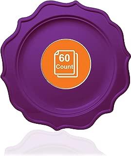 Best purple plastic plates Reviews