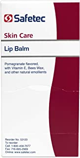 Safetec Lip Balm .5 g. Pouch 144 ct. Box (Pack of 1)