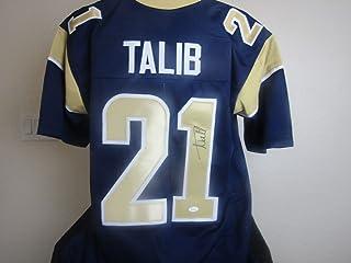 Aqib Talib autographed signed LA Rams Jersey