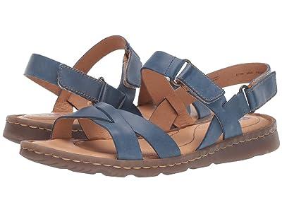 Born Jemez (Blue Full Grain Leather) Women