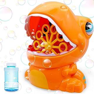 JOYIN Orange Bubble Machine Blower Bubble Maker 1000+ Bubble Per Minute for Kids, Summer Toy, Party Favor,Birthday, Outdoo...