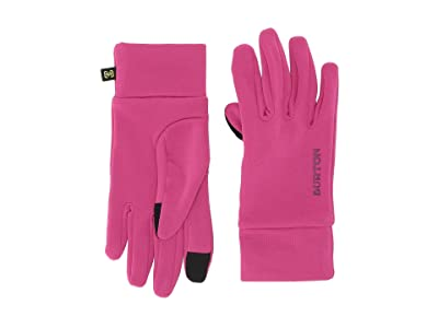 Burton Kids Screen Grab Liner Glove (Youth) (Fuchsia) Extreme Cold Weather Gloves