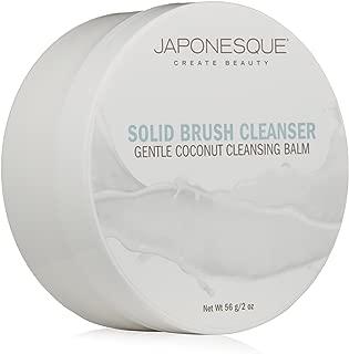 JAPONESQUE Solid Brush Cleanser, Coconut, 2 oz