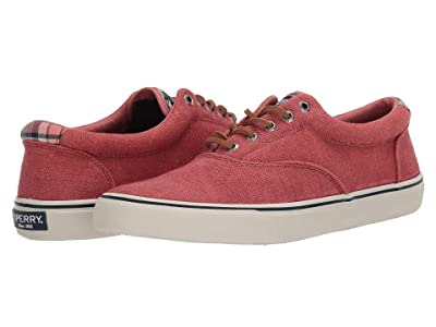 Sperry Striper II CVO Distressed (Red) Men