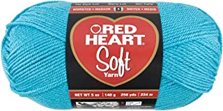 Red Heart Soft Yarn, Turquoise
