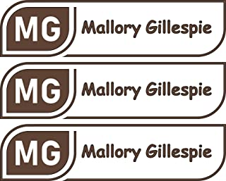 All-purpose, Custom Name Labels, Name And Initials, Multiple Colors And Sizes, Waterproof, Microwave And Dishwasher Safe, Washer And Dryer Safe, Custom Stickers, Personalized Labels, Camp Labels