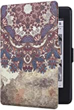 E4DEAL Slim Case for Kindle Paperwhite(10th Generation-2018), Smart Shell Cover with Auto Sleep Wake Feature for Kindle Paperwhite 10th Gen 2018 Released(Tribal Flower)