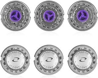 Oral-Q Recambio para afeitadoras Philips, modelos HQ55, HQ56, HQ3, HQ4, HQ5 - 3 Unidades