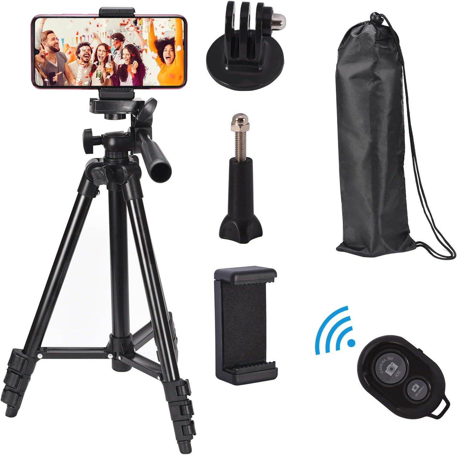 Lightweight Phone Tripod Al sold out. Popular brand 42 Inch Camera wi Aluminum Stand